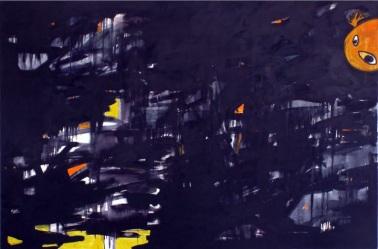 Oil on canvas, 200 cm x 150 cm, 2008.
