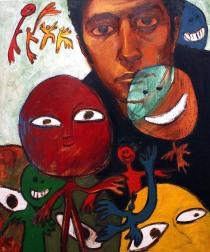 Oil on canvas, 62 cm x 76 cm, 2007