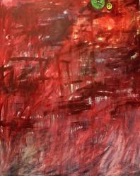 Oil and acrylic medium on canvas, 122 cm x 152 cm, 2007.