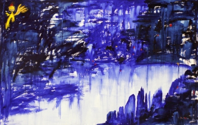 Oil on canvas, 170 cm x 265 cm, 2007.