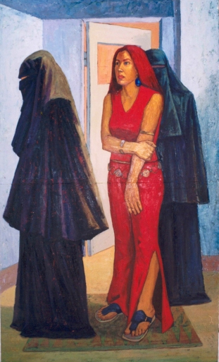 oil on canvas, 240 x 150 cm, 2003