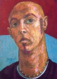 Oil pastel on paper, 35 cm x 50 cm, 2003